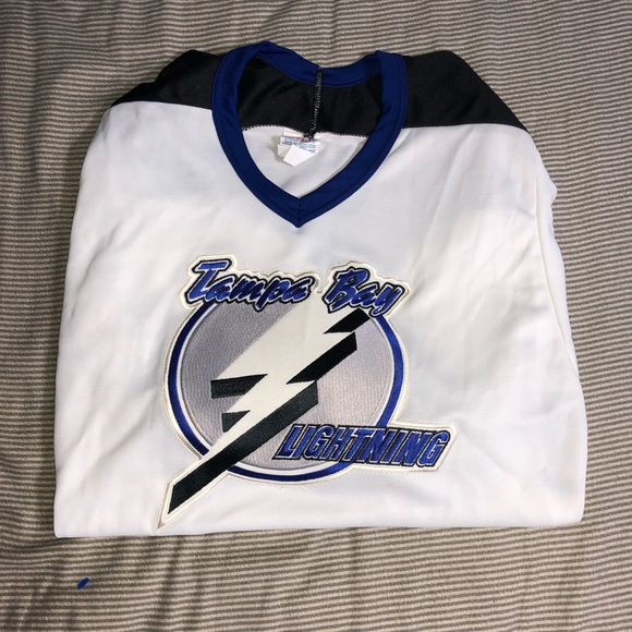 outlet store 9f620 f986a Vintage CCM Tampa Bay Lightning Jersey